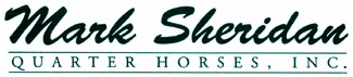 Mark Sheridan Quarter Horses, Inc. Logo