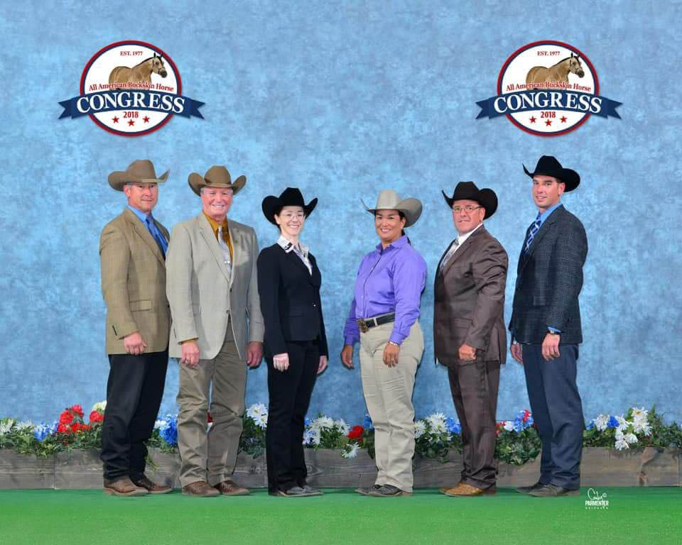 2018 Buckskin Congress