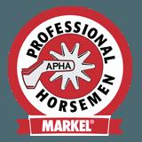 markel apha professional horseman logo