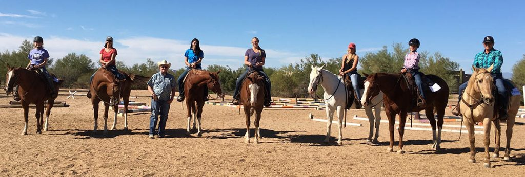 AZ Paint horse club clinic