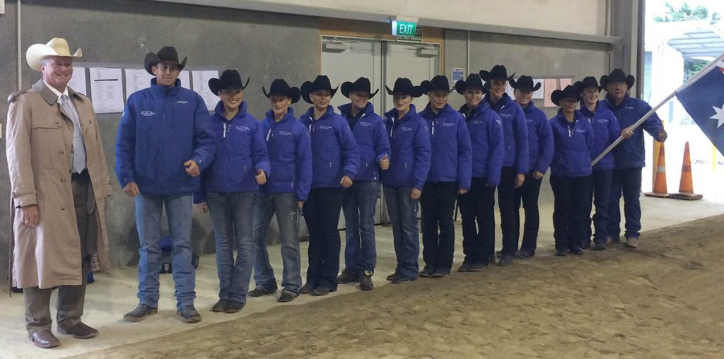 Coaching the Australian show team